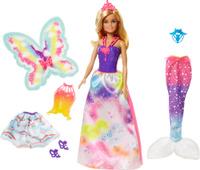 Купить Barbie Кукла Сказочная принцесса-фея-русалка, Куклы и аксессуары