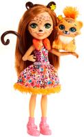 Купить Enchantimals Игровой набор с куклой Дополнительная кукла со зверюшкой, Куклы и аксессуары