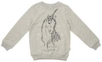 Купить Джемпер для девочки Frutto Rosso, цвет: светло-серый меланж. FRG72150. Размер 128, Одежда для девочек