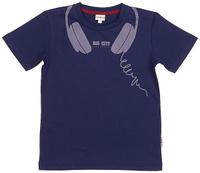 Купить Футболка для мальчика Frutto Rosso, цвет: темно-синий. FRB72144. Размер 128, Одежда для мальчиков