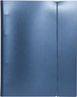 Купить Hatber Тетрадь на кольцах Metallic 120 листов в клетку цвет темно-синий, Тетради