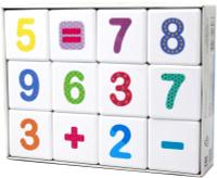 Купить Десятое Королевство Кубики Школа дошколят Веселая арифметика, Десятое королевство, Обучение и развитие