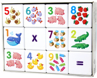Купить Десятое Королевство Кубики для умников Арифметика, Десятое королевство, Обучение и развитие
