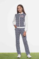 Купить Жакет для девочки Смена, цвет: синий. 18с028. Размер 152/158, Одежда для девочек