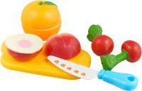 Купить Bampi Сюжетно-ролевая игрушка Набор продуктов на липучке Овощи и фрукты, Сюжетно-ролевые игрушки
