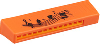 Купить Пластмастер Гармошка малая цвет оранжевый, Музыкальные инструменты