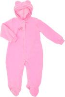 Купить Комбинезон для девочки КотМарКот, цвет: розовый. 2666. Размер 80, 12 месяцев, Одежда для новорожденных