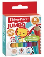 Купить Mattel Набор цветных карандашей Mini Jumbo Mattel Fisher Price 8 цветов, Карандаши