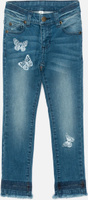 Купить Джинсы для девочки Acoola Kane1, цвет: синий. 20210160155_500. Размер 134, Одежда для девочек