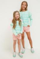Купить Джемпер для девочки Acoola Irena, цвет: светло-бирюзовый. 20210100172_9300. Размер 134, Одежда для девочек