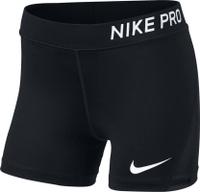 Купить Шорты для девочки Nike Pro, цвет: черный. 890222-014. Размер M (140/146), Одежда для девочек