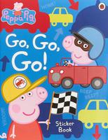 Купить Peppa Pig: Go Go Go!: Sticker Book, Первые книжки малышей