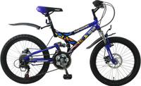 Купить Велосипед детский TopGear Hooligan , цвет: синий.ВН20038, Велосипеды