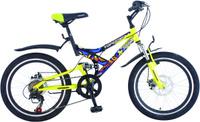 Купить Велосипед детский TopGear Hooligan , цвет: желтый. ВН20075, Велосипеды