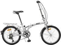 Купить Велосипед детский TopGear Shimano , складной, цвет: белый. ВНС2085, Велосипеды