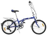 Купить Велосипед детский TopGear Shimano , складной, цвет: синий. ВНС2086, Велосипеды