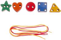 Купить Smile Decor Игра-шнуровка Геометрические фигуры, Обучение и развитие