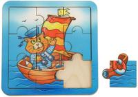 Купить Smile Decor Пазл для малышей Кораблик, Обучение и развитие