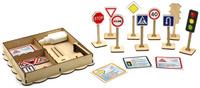 Купить Smile Decor Обучающая игра Набор дорожных знаков, Обучение и развитие