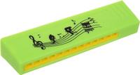 Купить Пластмастер Гармошка малая цвет салатовый, Музыкальные инструменты