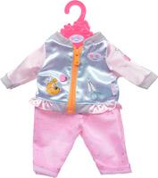 Купить Zapf Creation Одежда для куклы BABY born 824-542, Куртка голубая, штаны розовые, Куклы и аксессуары