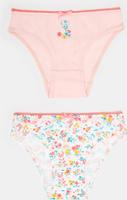Купить Трусы для девочки infinity KIDS Pamplona, цвет: разноцветный, 2 шт. 32224120064_8000. Размер 122/128, Одежда для девочек