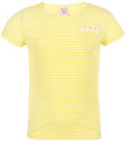 Купить Футболка для девочки Sela, цвет: желтый. Ts-511/489-8223. Размер 98, Одежда для девочек
