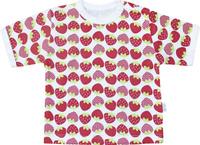 Купить Футболка для девочки Веселый малыш One, цвет: красный. 67172/one-C (1)_клубничка. Размер 68, Одежда для новорожденных