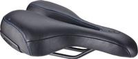 Купить Седло велосипедное BBB SportPlus Active Leather , цвет: черный, 170 х 270 мм, Седла, штыри и накладки
