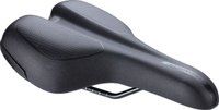 Купить Седло велосипедное BBB TouringPlus Active , цвет: черный, 185 х 270 мм, Седла, штыри и накладки
