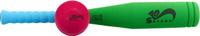 Купить Safsof Игровой набор Бейсбольная бита и мяч цвет зеленый голубой малиновый, Спортивные игры