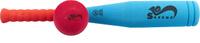 Купить Safsof Игровой набор Бейсбольная бита и мяч цвет голубой коралловый малиновый, Спортивные игры