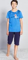 Купить Пижама для мальчика Vienetta's Secret Great, цвет: синий. 708127 0000. Размер (146/152), 11-12 лет, Одежда для мальчиков