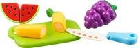 Купить Bampi Набор продуктов на липучке Фрукты 2, Первые игрушки