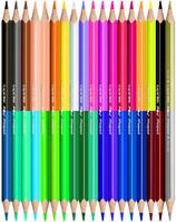 Купить Maped Color Peps Набор цветных карандашей Duo двухсторонние 18 шт, Карандаши