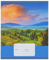Купить Unnika Land Тетрадь Прекрасные пейзажи 18 листов в линейку, Тетради