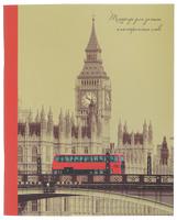 Купить Unnika Land Тетрадь Британские зарисовки 48 листов в клетку, Тетради