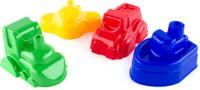 Купить Пластмастер Формочка для песочницы Транспорт в ассортименте, Игрушки для песочницы