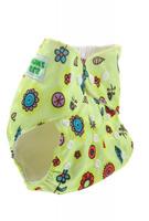 Купить Mum's Era Многоразовый подгузник Цветочки 3-13 кг + один вкладыш, Подгузники и пеленки