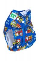Купить Mum's Era Многоразовый подгузник Грузовики 3-13 кг + один вкладыш, Подгузники и пеленки