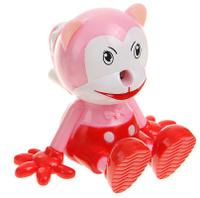Купить Точилка механическая с контейнером Кот цвет розовый 1965003, Чертежные принадлежности