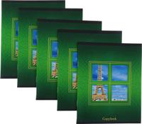 Купить КТС-Про Набор тетрадей Взгляни по-новому Эйфелева башня 48 листов в клетку 5 шт, Тетради
