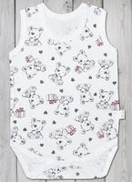Купить Комбинезон домашний для мальчика Веселый малыш One, цвет: светло-бежевый. 43172/one-C (1)_дружок. Размер 68, Одежда для новорожденных