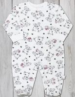 Купить Комбинезон домашний для мальчика Веселый малыш One, цвет: светло-бежевый. 253/172/one-C (1)_дружок. Размер 68, Одежда для новорожденных