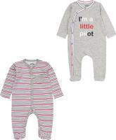 Купить Комбинезон для мальчика ARTIE, цвет: серый, розовый. 072073 сер/роз-пол. Размер 80, Одежда для новорожденных