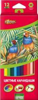 Купить №1 School Набор цветных карандашей ColorPics с точилкой 12 шт, Карандаши
