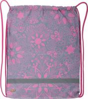 Купить №1 School Мешок для сменной обуви Узоры из цветов, Ранцы и рюкзаки
