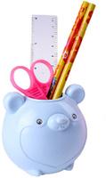 Купить Канцелярский набор Мышка цвет голубой 5 предметов 550125, NoName, Канцелярские наборы