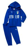 Купить Спортивный костюм для мальчика Puma FIGC Italia Baby Jogger, цвет: лазурный. 75260901. Размер 98, Одежда для мальчиков