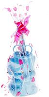 Купить Канцелярский набор Слоник цвет голубой 5 предметов 550129, NoName, Канцелярские наборы